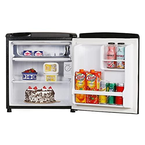 Haier 53 L 2 Star Direct-Cool Single Door Mini Refrigerator (HR-65KS, Black) 5