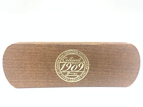 [コロニル]1909ファインポリシングブラシ14.9cmx4.8cmx3.8cmCN044009メンズBrownF