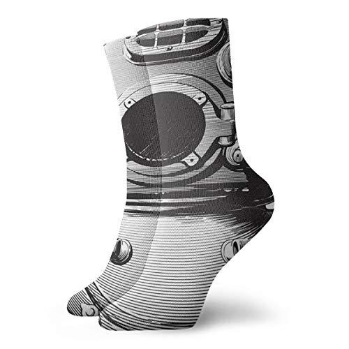 xinfub Alter Taucherhelm Spaß und interessante Socken cm /.Zoll
