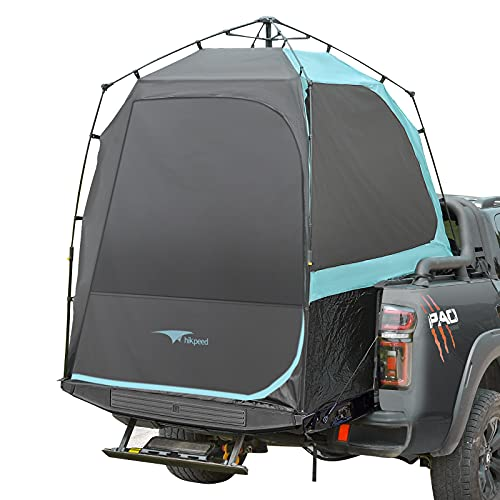 HIKPEED Truck Bed Tent, Full Size Pickup Truck Tent Automatic Setup Truck Tents 5.5ft 6.5ft Bed for...