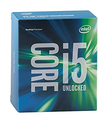 Intel Boxed Core I5-6600K 3.50 GHz, 6 M Processor Cache 6 for LGA 1151 (BX80662I56600K)