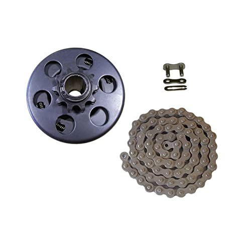 Vernacular Fit For Professional Centrifugal Clutch 3/4' Bore 10 Tooth With 40/41/ 420 Chain Go Kart Mini Bike Small Bike Parts Heavy Duty