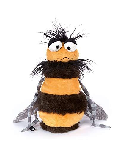 sigikid, Wespe - Weh Weh Wasp, Beaststown, Kuscheltier für Erwachsene und Kinder, gelb/schwarz ,39198
