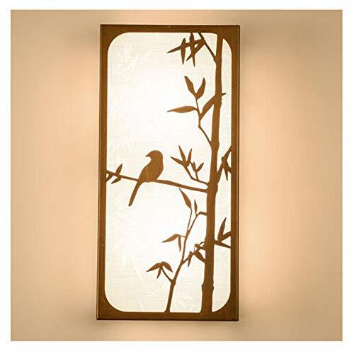 HENGXIAO-wall lamp Nouveau Style Chinois Lampe Murale Lampe Mur- Imitation Ancienne Allée Lit De La Tête Chambre De Fond Mur Luminaire De La Salle De Séjour [Classe Énergétique A ++]