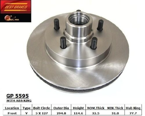 Fantastic Prices! ROTORS SB56258 Brake One Replacement