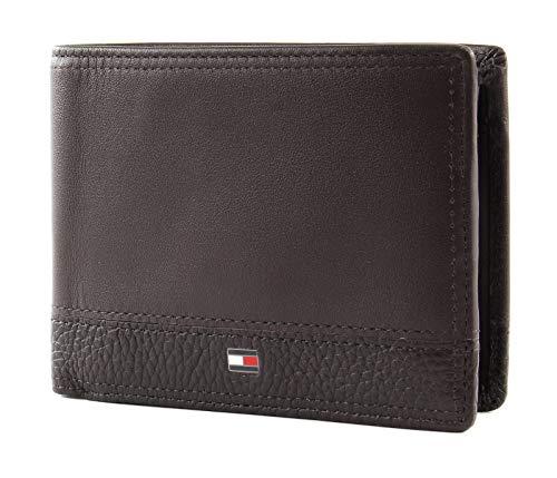 Tommy Hilfiger Th Business Extra Cc & Coin, Portafoglio Uomo, Beige (Testa Di Moro), 1x1x1 centimeters (W x H x L)