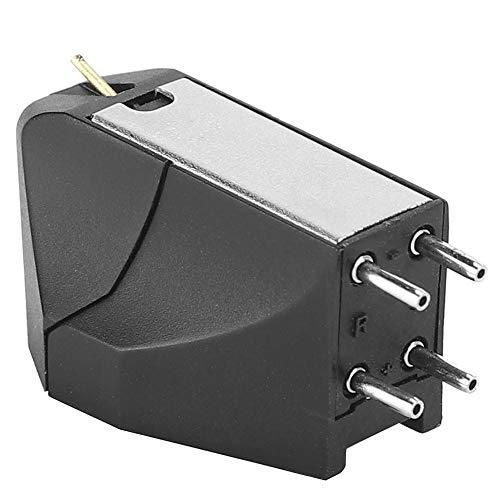 Socobeta High-End Cartridge Stylus Ersatz Plattenspieler Nadel Universal Magnetic LP Plattenspieler Patrone mit Stylus Nadeln für Plattenspieler