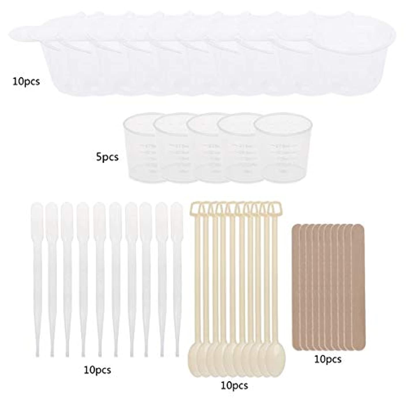 EPOXY Resin MOLDS Jewelry Making Casting Tool KIT with STIRRERS Spoons DROPPERS Measuring Cups and CONTAINERS
