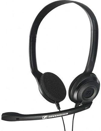 Sennheiser HEADSET PC 3 CHAT - Cuffia professionale con Microfono per Pc o Laptop, Doppio Jack (1 x Audio, 1 x Mic), Nero - Trova i prezzi più bassi