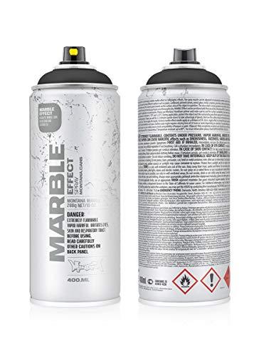 415357 Montana Marmor-Effekt, 400 ml, Schwarz