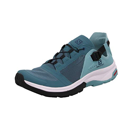 Salomon Damen Tech Amphib Walking Shoe, Türkis Hydro Nile Blue Poseidon, 39 1 3 EU