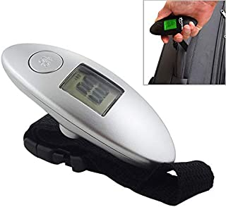 WTYD Home Tool 100g Digital Electronic Luggage Scale LCD Portable Travel Suitcase Bag Scale Hanging Scale, Capacity:40kg (Color : Silver)