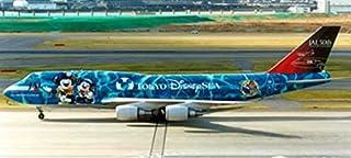 "Blue Box Airplane Models JAL B747-400 ""No.5 Disney Sea"" JA8905 (1:200) [並行輸入品]"