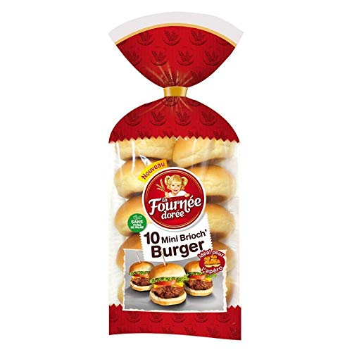 mini pain burger leclerc