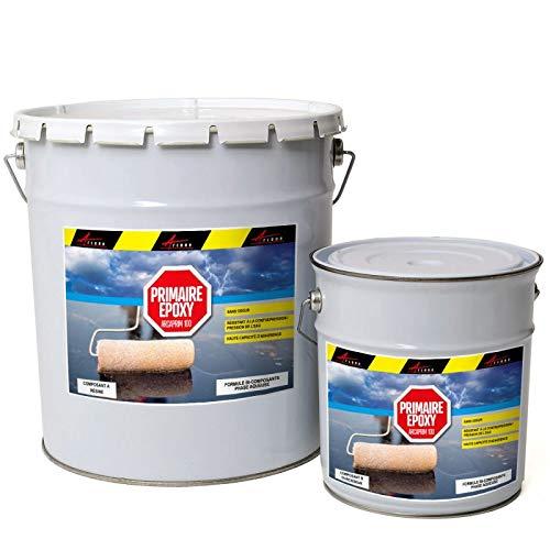 ArcaPRIMER100 – Líquido transparente epoxi transparente – Kit de 20 kg: hasta 100 m2 – Arcane Industries