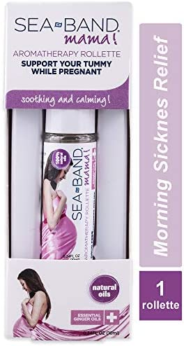 Sea-Band Mama! Essential Oil Calming Aromatherapy Rollette for Morning Sickness Relief