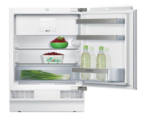 Siemens KU15LA65 iQ500 Einbau-Kühlschrank / A++ / Kühlen: 110 L / Gefrieren: 15 L / SafetyGlass / Tageslicht / Flachschanier
