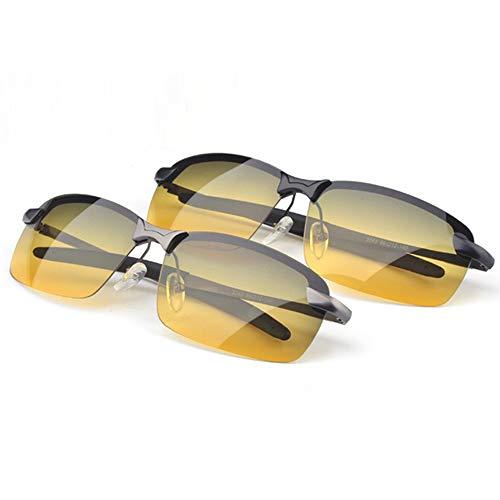 Nachtsichtbrillen polarisiert Fahrspiegel Tages- und Nachtbrillen Blendschutz Anti-Fernlichtbrillen Nachtsichtbrille