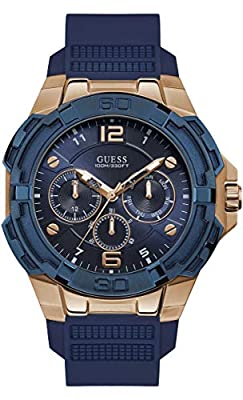 Guess Reloj Analógico para Hombre de Cuarzo W1254G3