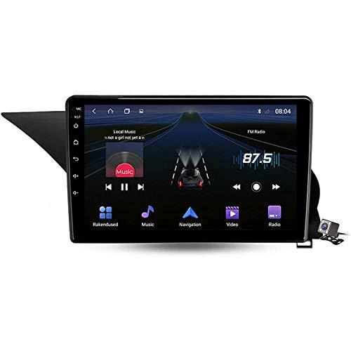 XBRMMM Android 9.1 Radio para Automóvil para Mercedes-Benz GLK-Class X204 2012-2015 Navegación GPS Estéreo Pantalla Táctil 9' Soporte Pantalla Espejo BT Control Volante/FM RDS DSP