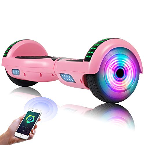 EPCTEK Hoverboard - UL2272 Self Balancing Hover Board w/Bluetooth Speakers