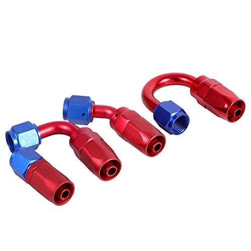 AERZETIX L/ínea de freno manguera tubo de cobre 10cm /Ø4.76mm con racores F12x1//M10x1 C42622