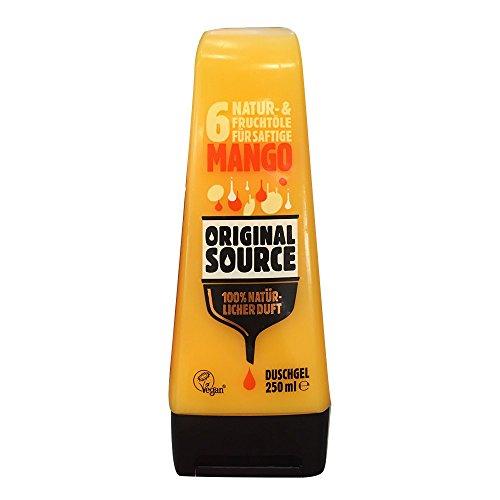 Original Source Mango Duschgel - 100% Natürlicher Duft, Vegan - 250ml (1er Pack)