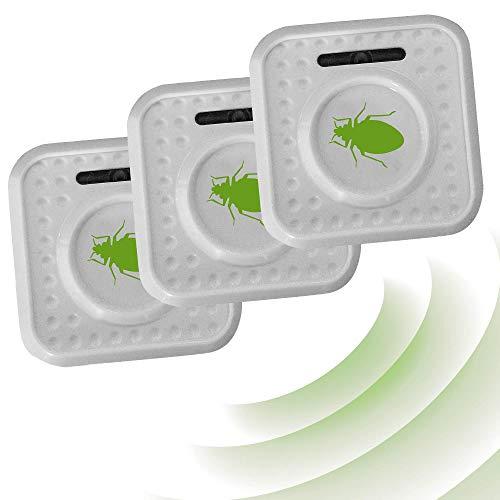 ISOTRONIC Insektenschutz Milbenschutz Milbenabwehr batteriebetrieben Insektenabwehr gegen Bettwanzen und Milben (3)