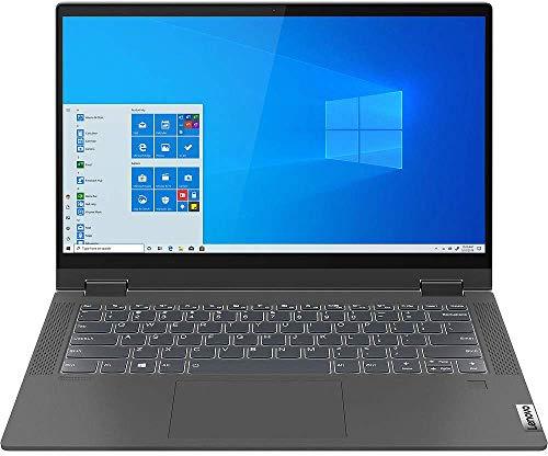 Lenovo IdeaPad Flex 5 14 inches FHD IPS Touchscreen Laptop 2in1 14IIL05 Intel i5-1035G1 (Beats i7) 16GB RAM 512 GB SSD M.2 2280 PCIe NVMe 3 Cell Windows 10 Home Graphite Grey (Renewed)