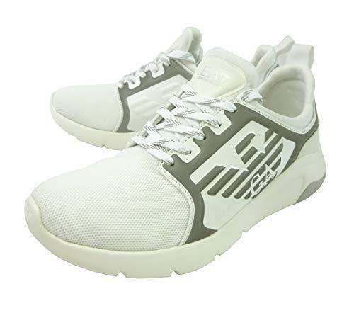 [エンポリオアルマーニ] EA7 スニーカー メンズ ホワイト シューズ 靴 (メーカーサイズ:8) A-2755 [並行輸入品]
