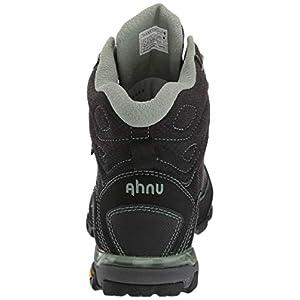 Ahnu Women's W Sugarpine II Waterproof Ripstop Hiking Boot, Black/Green Bay, 9 Medium US