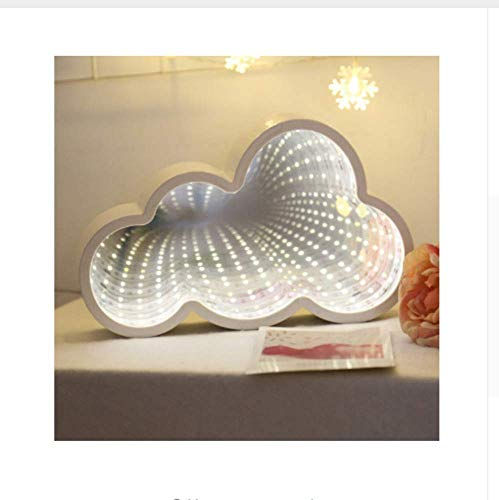 MTXLtd Wandleuchte Lichter Lampen Lichter Scheinwerfer Beleuchtung Nachtlicht 3D Stern Könnte Herz Licht Unendlichkeitsspiegel Tunnel Lampe Spiegel Tunnel Licht Wohnkultur