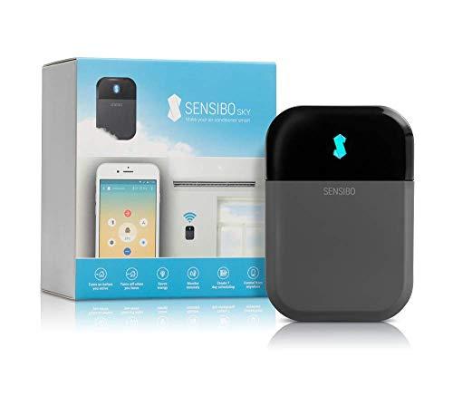 Controlador de aire acondicionado Sensibo Sky, Wi-Fi, compatible con iOS y Android. Compatible con Amazon Alexa y Google Home