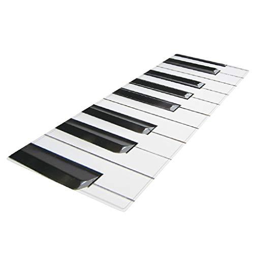 joyMerit 40x120cm Bodenmatte Runner Kitchen Anti Rutsch Teppich - Klavier