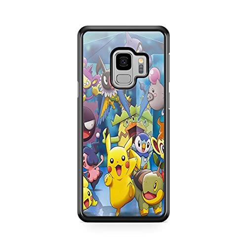Coque pour Samsung Galaxy A6 2018 Pokemon go Team Pokedex Pikachu Manga Tortank Game Boy Color Salameche Noctali Valor Mystic Instinct Case 5