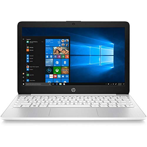 HP Stream 11-AK0002NA 29.5 cm (11.6') Laptop 1366 x 768 pixels Intel Celeron N4000 2GB DDR4-SDRAM 32 GB eMMC Wi-Fi 5 (802.11ac) Bluetooth Windows 10 S - UK Keyboard Layout - Plain Box (Renewed)