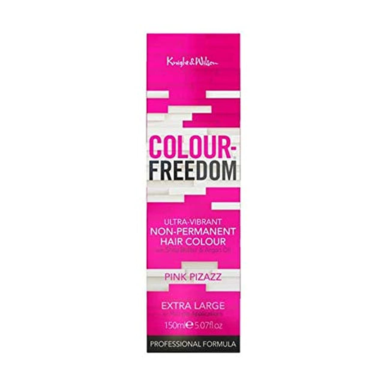 ピアニスト難しい行き当たりばったり[Colour Freedom ] 色自由ピンクあか抜け006 - Colour Freedom Pink Pizazz 006 [並行輸入品]