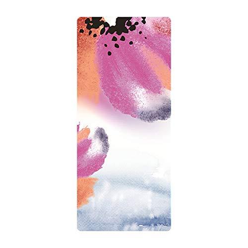MOTOCO Yoga Handtuch Drucken Fitnesstuch - rutschfest, Leicht, Recyceltes, Saugfähiges Mikrofaser Yogahandtuch für Hot Yoga Bikram Ashtanga und Pilates(183X68CM.J)