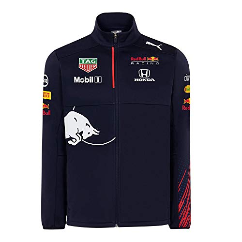 Red Bull Racing Official Teamline Chaqueta Softshell, Hombres Large - Original Merchandise