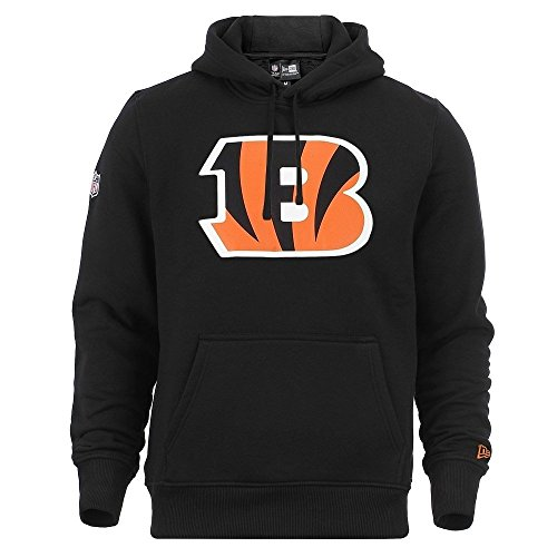 New era Cincinneti Bengals Hoody Team Logo Po Hoody Black - 4XL