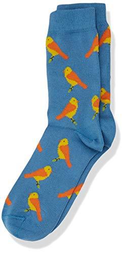 Living Crafts Socken, 2er-Pack 31/34, cobalt/candy