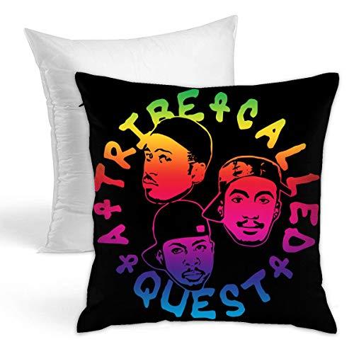 [ちひろ] ア・トライブ・コールド・クエスト フルジップ 抱き枕 だきまくら クッション 座布団 柔らかい 贈り物 中身:綿 45*45cm