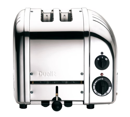 Dualit 27030 Classic New Generation Toaster, Edelstahl
