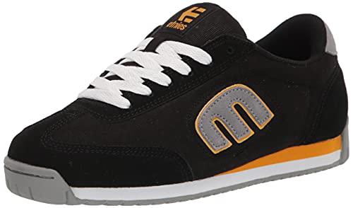 Etnies LO- Cut II LS, Scarpe da Skateboard Uomo, Nero, Grigio, Giallo, 43 EU
