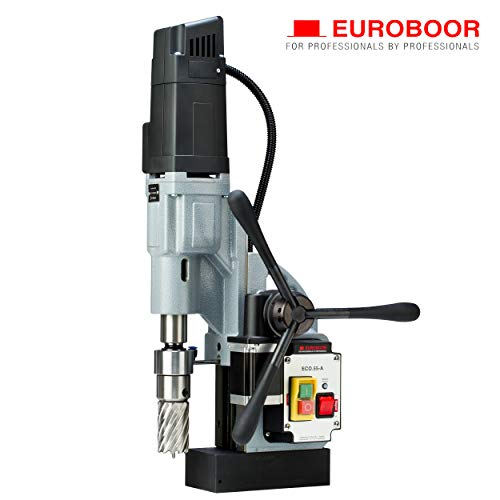 Purchase EUROBOOR Magnetic Drill Press - 1600W / 14.5A Portable Drilling Machine with 2-3/16 Annula...
