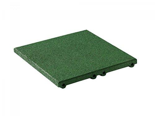 Lot de 200 patins de terrasse en granul/és de caoutchouc pour terrasse 3 mm 90 x 90 mm