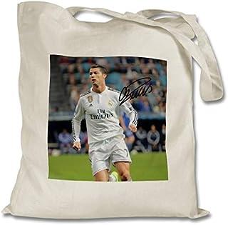 ec61d026e9 Star Prints UK Cristiano Ronaldo - Real Madrid - Portugal - Juventus 1  Personalised Printed Tote