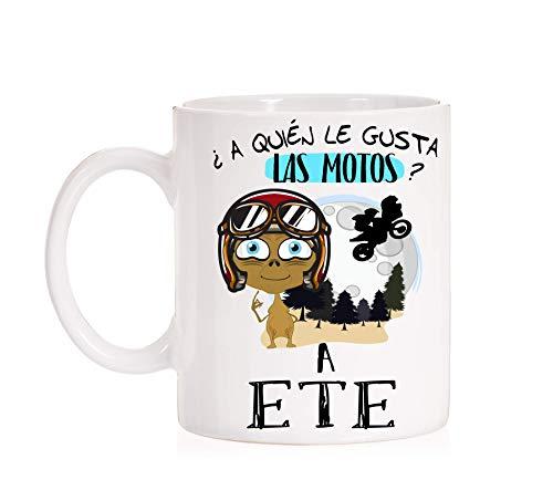 FUNNY CUP Tazas Moteros. ¿ A quién le Gusta Las Motos ? a ETE Motos, Motero, Motera. (Motor)