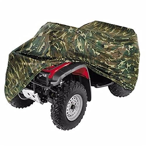 CIFE Funda para motocicleta de camuflaje ATV cubierta de vehículo playa Motos funda impermeable scooter moto protector (tamaño: M)
