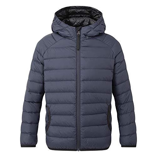 TOG24 Dowles Kids Packable Insulated Lightweight Jacket Breathable Ultra Warm Childrens Jacket Elasticated Cuffs and Hem 90 Down 10 Feather 600 Fill Power Perfect for School Camping Hiking